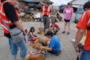 lutheran church charities comfort dogs oklahoma tornado